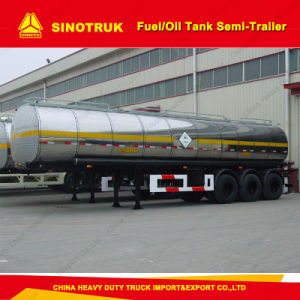 42cbm 3-Axle Oil/Fuel Tank Semi Trailer pictures & photos