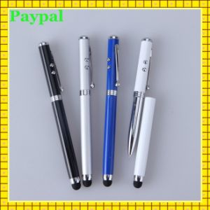 3-in-1 Stylus with LED Light Ballpoint Pen (gc-p009) pictures & photos