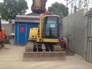 Used Komatsu Nini Excavator Digger PC60-7 with Blade pictures & photos
