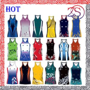 Wholesale Polyester/Spandex Sublimation Custom Design Fashion Design Netball Dress pictures & photos