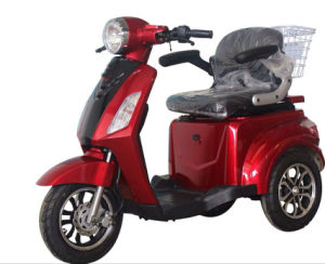 Three Wheels Electric Tricycle for Disabled&Old People pictures & photos
