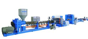 PP/PE Plastic Geogrid Production Line pictures & photos