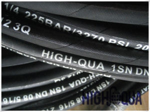 China Best Hot Product Steel Wire Braid Hydraulic Hose Isn Professional Manufacturer pictures & photos