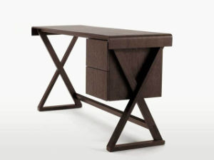 Modern Desk Solid Wood Material for Home Office pictures & photos