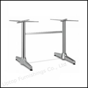 2 Stand Long Rectangle Restaurant Aluminum Table Base (SP-ATL232) pictures & photos