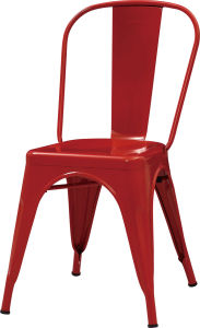 World Famous Wedding Industrial Steel Dining Chair (FOH-BCC19) pictures & photos