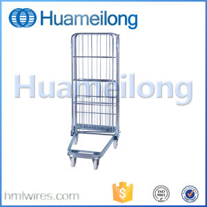 Folding Supermarket Storage Large Scale Steel Cheap Trolley pictures & photos