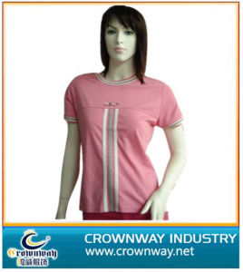 Ladies Comfortable Cotton Golf T-Shirt (CW-TS-57) pictures & photos