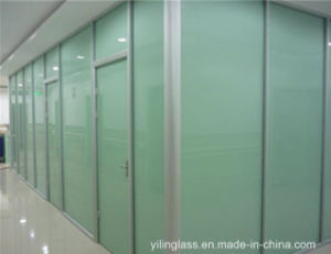 Frosted Private Safety Glass for Office Partition pictures & photos