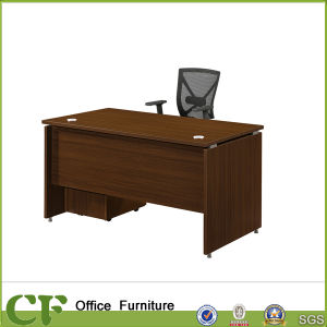 Simple Modern Wooden Office Desk with Mobile 3 Drawers Cabinnet pictures & photos