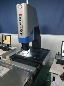 Vertical Vision System with Laser Applied to Machinery Objects Measurement pictures & photos