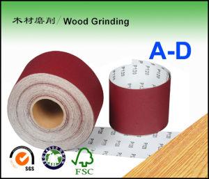 D-Wt Aluminum Oxide Abrasive Paper Roll for Velcro Disc & Psa Disc a-D
