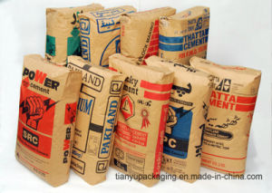 High Stength Wall Putty Kraft Paper Bag pictures & photos
