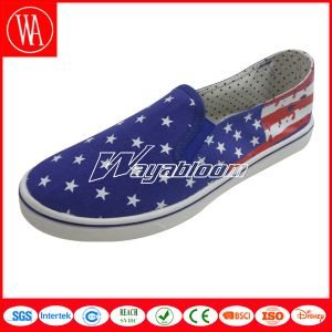 Comfortable Loafer Leisure Men Canvas Casual Shoes pictures & photos