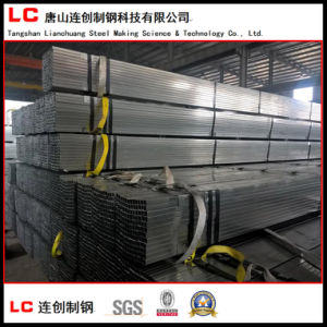 Pre-Galvanized Hollow Section Pipe with Stenciling pictures & photos
