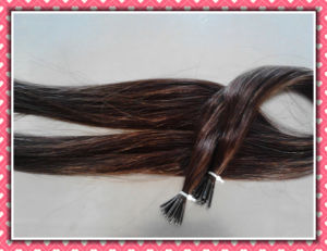 Pre-Bonded 100% Human Hair Extension pictures & photos
