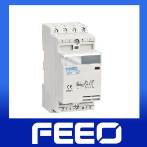 Hot! Household Miniature 4no Modular AC Contactor pictures & photos