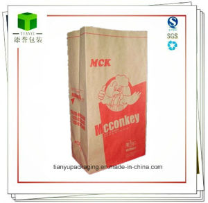 Square Bottom Paper Bag for Charcoal 10lb pictures & photos