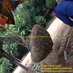 Wire Basket Tree Root Balling Mesh Plants Root Ball Net pictures & photos