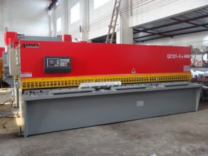 "Brand ""Accurl"" Hydraulic Guillotine Shearing Machine pictures & photos"