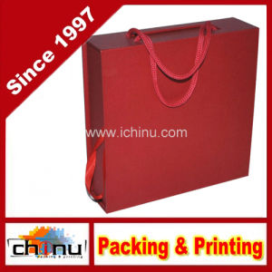 Red Paper Gift Box (3161) pictures & photos