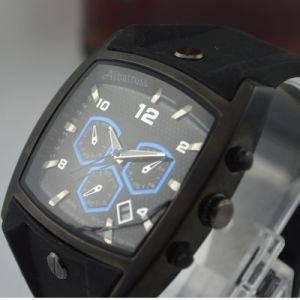 3ATM Waterproofed Wristwatch Men′s Trendy Analog Sports Japan Quartz, 12-Month Guarantee