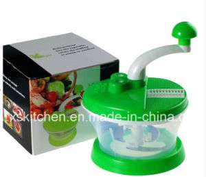 Quickl Chop Mince Slice Dice, Three Drive Quickly Multi-Functional Vegetable Chopper Xs-C1