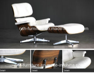 Italian Leather Charles Eames Lounge Chair with Ottoman (RF-388) pictures & photos