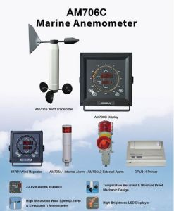 Marine Wind Meter, Anemometer for Vessels and Ships