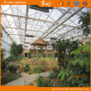 Glass Greenhouse Top Covered by PC Sheet Used as Eco Hotel pictures & photos