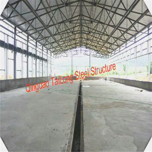 Low Cost Steel Frame Structure Prefab Chicken Coop House in Poultry Farms pictures & photos