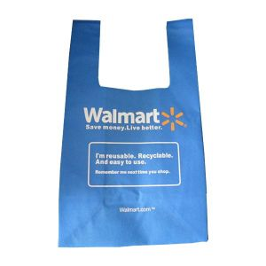 China reusable non woven poly custom t shirt shopping bag for Personalized t shirt bags