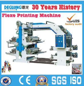 4 Color Plastic Film Flexo Printing Machine (DGYT4800) pictures & photos