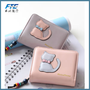 Top Selling Wholesale Fancy Nice Fashion Snap Button Women Wallet pictures & photos