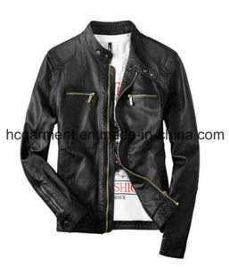 Motorcycle Suit, Safety Waterproof PU Leather Jacket for Man/Women pictures & photos