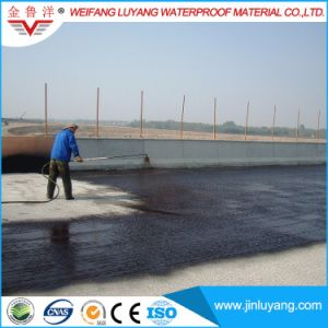 Solvent Free Never Curing Liquid Rubber Modified Bitumen Waterproof Coating for Bridge
