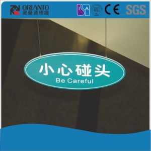 Acrylic Hospital Painting and Silk Screen Wall Mounted Sign pictures & photos