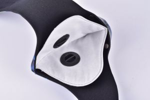 Sports Mask for Bicycle and Motorcycle with Activated Carbon Filter pictures & photos