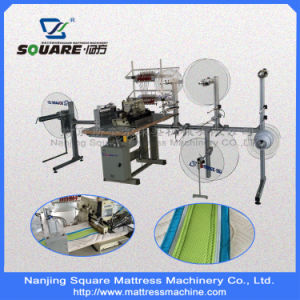 Model Ctf4 Mattress Sewing Machine for Decorative Border Fabric pictures & photos