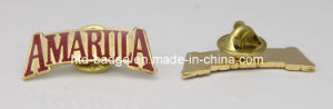 Custom Made Enamel Metal Pin in Gold Plating (PN088)