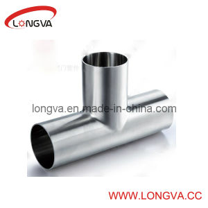 Sanitary Stainless Steel Welded Tee pictures & photos