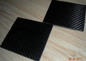 High Quality / Abrasion Resistant / High Temperature Resistant Carbon Fiber Board pictures & photos