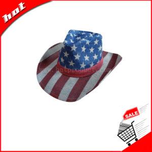 Cowboy Hat American Flag Hat Unisex Hat pictures & photos