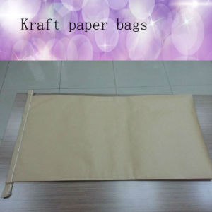 Kraft Paper Bags with PE Fabric Can Be Printed pictures & photos