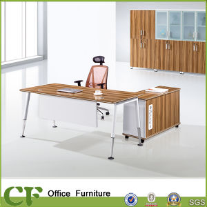 4-Leg Modern Executive Desk with Mobile Cabinet pictures & photos