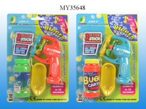 B/O Auto Bubble Gun (MY35648)
