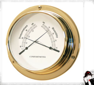 Room Thermometer & Hygrometer Dial 81mm pictures & photos