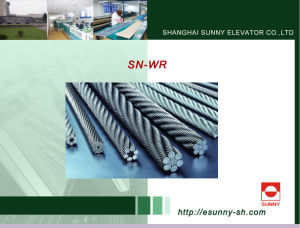 Elevator Steel Wire Rope (SN-WR Series) pictures & photos