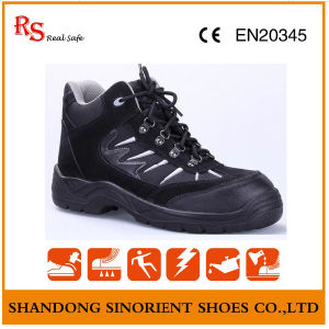 Chemical Resistant Cow Suede Leather Safety Shoes Wholesale pictures & photos