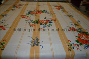 Fashion T/C 50/50 333 Printed Yarn Dyed Bed Sheet pictures & photos